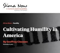 cultivating humility in america geoffrey claussen 731 2017 cultivating humility in america the essay is here and a pdf of the full issue is here