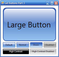 How Create Glossy Button In C Stack Overflow