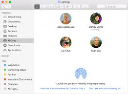 Use Airdrop On Your Mac Apple Support