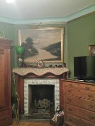 gas fireplace and flat screen tv picture of the gables bed and breakfast philadelphia tripadvisor