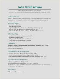Technical Support Skills List 10 List Programming Languages On Resume Resume Letter