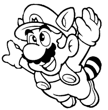 Small Picture Super Mario Brothers Fyling to th Sky Coloring Page Color Luna