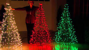 christmas tree lighting ideas. Pre-Lit 5\u0027 Fold Flat Outdoor Christmas Tree By Lori Greiner With Dan Wheeler - YouTube Lighting Ideas