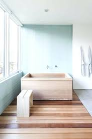bathtub with glass wall the custom cedar tub fabricated by dovetail elegantly fits into the master bathtub with glass wall
