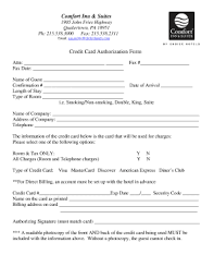 cc auth form credit card authorization form for choice hotels fill online
