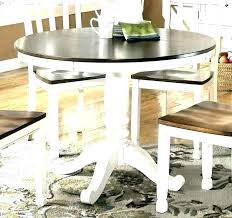 distressed dining table set distressed dining table set white round room gray and chairs black distressed