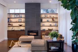 houzz fireplaces living room contemporary with bookshelves baseboards