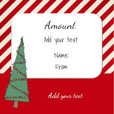 Printable Christmas Certificates Free Printable Christmas Gift Certificate Template Sample With Red 73