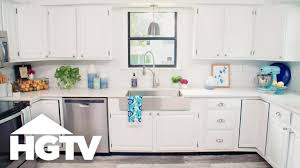 How To Paint Kitchen Cabinets Hgtv Youtube