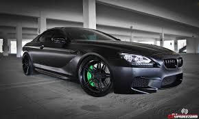 All BMW Models black on black bmw m6 : BMW M6 Satin Black by R1 MotorsportsTuningCult