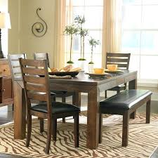 dining table and bench seats dining table with bench and chairs intended for the most stylish