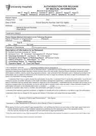 Top 91 Authorization To Release Medical Information Form Templates ...