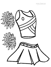 Small Picture Free how to draw a cheerleader coloring pages special Cheerleading
