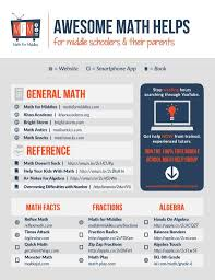 best math teacher tips resources images math  check out this parent teacher resource from math for middles it s a list