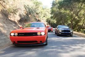 2014 Chevy Camaro ZL1 Vs. Challenger SRT8 Vs. Mustang Shelby GT500 ...