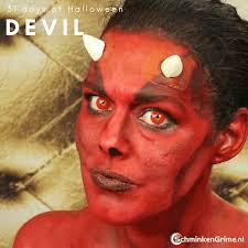 devil makeup tutorial video 31 days of