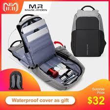 <b>Multifunction</b> USB charging Men 15inch Laptop <b>Backpacks</b> For ...