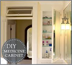 Concept Built In Bathroom Medicine Cabinets Victoria Elizabeth Barnes For Design