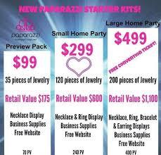 paparazzi jewelry and accessories starter kits