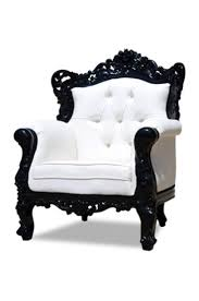 modern black and white furniture. simple white fabulous and baroque u2014 modern rococo furniture interior design in black and white