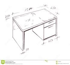 Image Shop Drawings Hand Drawn Illustration Of Furniture Isolated On White Please Feel Welcome To Check Out My Huge Superior Library Of Interior Hand Drawings Dreamstimecom Modern Interior Design Desk Freehand Drawing Stock Illustration
