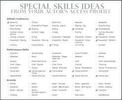 Special Skills On Resume Steadfast170818 Com
