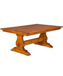 austin amish trestle table