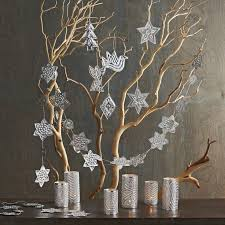 Frosted Effect Light Up Twig Christmas Trees  Fresh Design BlogTwig Tree Christmas
