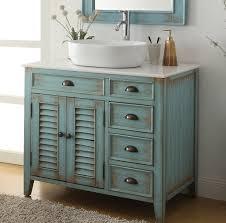 bowl sink vanity. 36 Distress Blue Abbeville Vessel Sink Vanity CF 78886BU Throughout Vanities For Sinks Plans 0 Bowl A