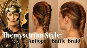 Wonder Woman Hair Style Wonderwoman Inspired Themyscirian Style Antiopes Battle 7083 by wearticles.com