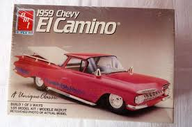 AMT 1959 Chevy El Camino Truck 1/25 Model Kit 6897 Build 1 of 3 ...