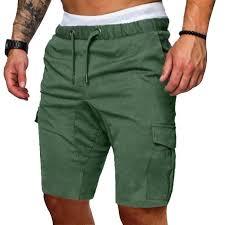 MJARTORIA 2019 Arrival <b>Cargo Pants Men</b> Pockets <b>Solid</b> Zipper ...
