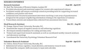 Best Resumes Format Interesting Resume Format For Phd Cv Examples Student Samples Example