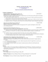 Med Surg Nurse Resume Registered Samples Free New Grad Vesochieuxo