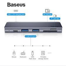 <b>Baseus</b>-harmonica-5-in-<b>1</b>-hub-adapter-ucn3266