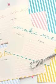 Recipe Card Templates Free Free Printable Recipe Card Templates Design Eat Repeat