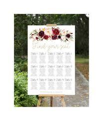 Wedding Seating Chart Wedding Seating Plan Printable