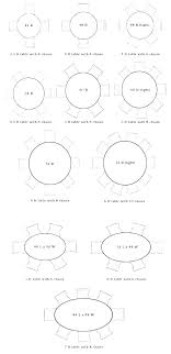 6 person table dimensions dining size for round 60 tables t 6 person dining table dimensions round