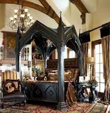victorian gothic bedroom photo - 1