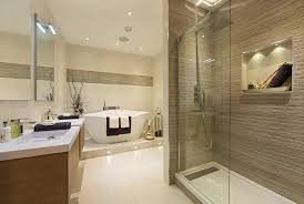 stand alone shower bathroom traditional with three wall alcove tub chrome and valves