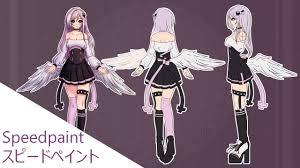 Character Design Oc Kura Reference Sheet Oc Character Design Speedpaint