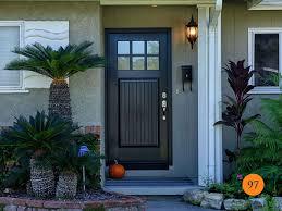 craftsman 36 x80 therma tru ccv960xc fiberglass entry door installed in la