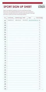 Blank Roster Sheet Aoteamedia Com