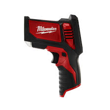 "laser temp gunâ""¢ m12â""¢ cordless lithium ion thermometer milwaukee tool"
