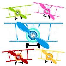 Airplane Clipart No Background Airplane Clipart Airplanes Clipart Png Biplane Clipart Etsy