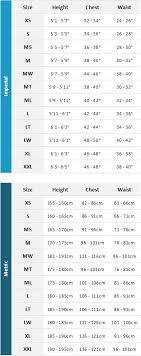 Wetsuit Size Chart Mens 2019 Typhoon Kona 6 5 4mm Gbs Chest Zip Wetsuit Black Blue 250611