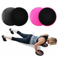 image is loading 2pcs dual sided gliding discs fitness core sliders