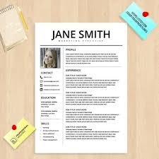 Colorful Resume Templates Awesome Professional Resume Template Design Which Can Be Fully Edited In