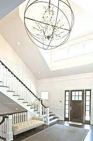 2 story foyer chandelier height lighting fixtures ideas