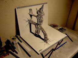 3d drawing make in paper how to make 3d drawing how to draw 3d art on